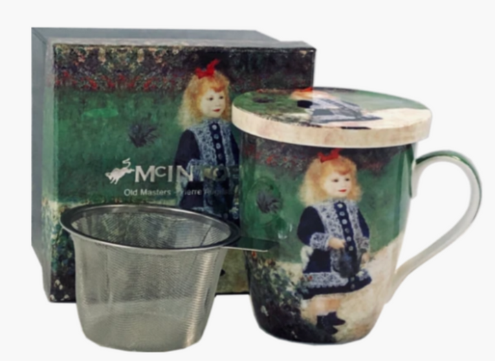 Renoir Girl with a Watering Can - Gift-Boxed Mug