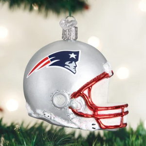 N. E. Patriots Helmet - Old World Christmas