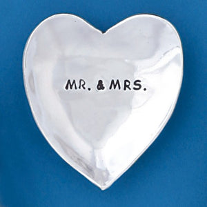 Large Charm Bowl - Mr. & Mrs.