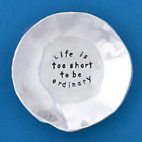 Large Charm Bowl - Life is too Short
