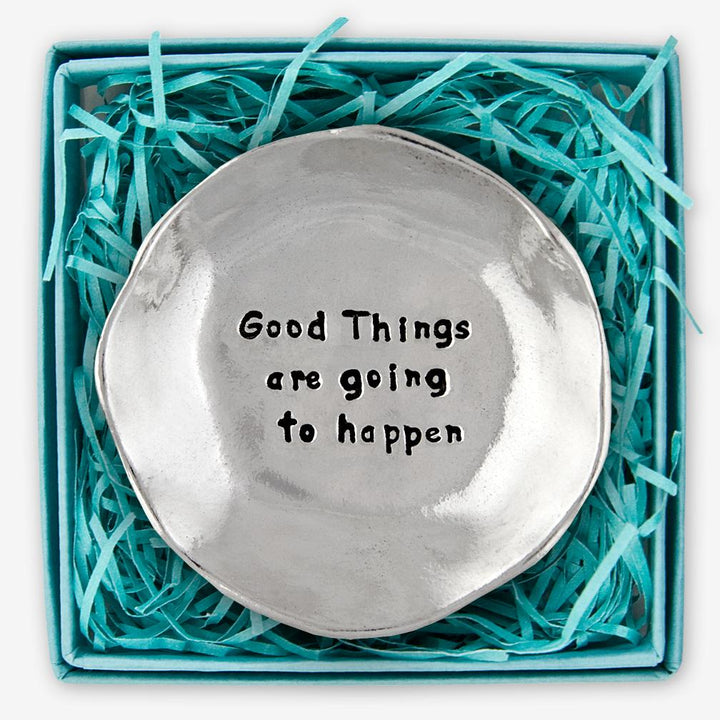 Large Charm Bowl - Good Things Are Going To Happen