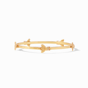 Julie Vos- Bee Gold Bangle-Medium