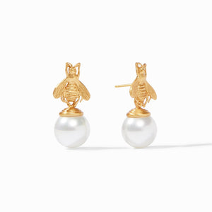 Julie Vos- Bee Pearl Drop Earrings