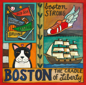 "9"" Plaque - Boston"