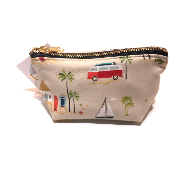 Charlie Change Purse - Coastal Scene