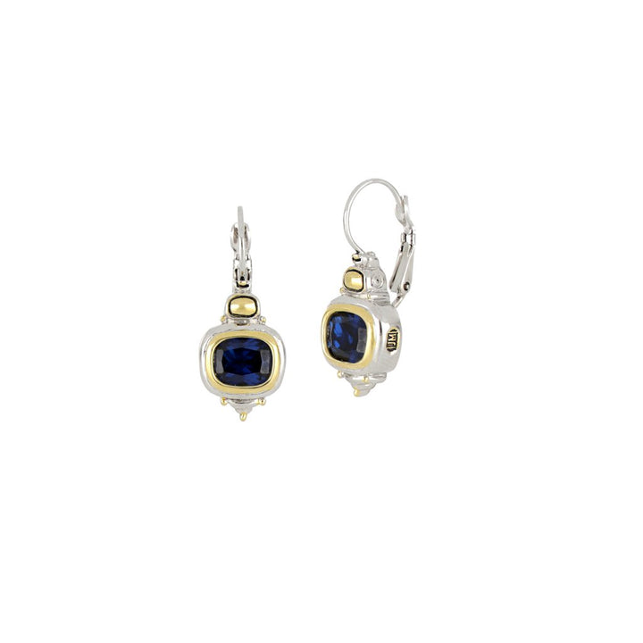 John Medeiros- Nouveau Indigo French Wire Earrings
