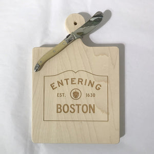 Cutting Board - Entering Boston