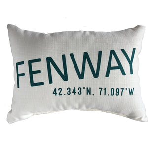 Pillow - Fenway Coordinates