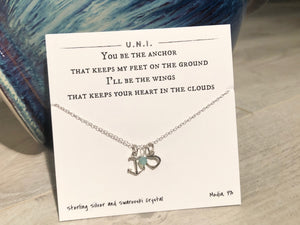 Necklace - You be the anchor...