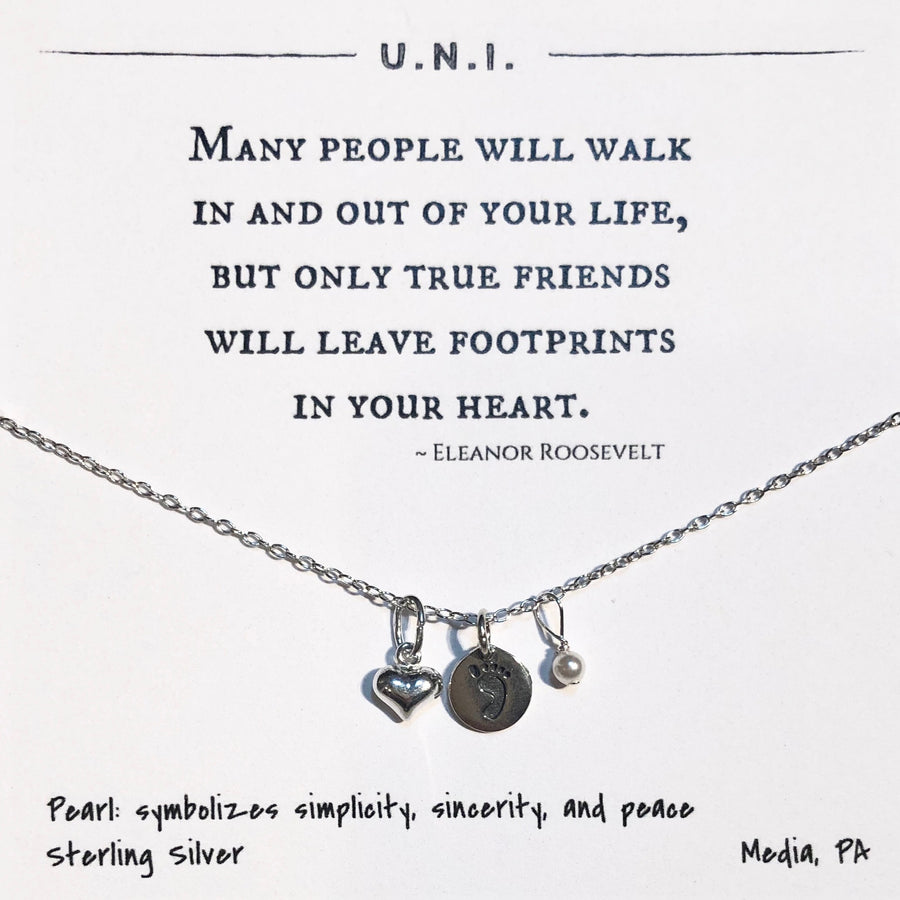 Necklace - Many people will walk...