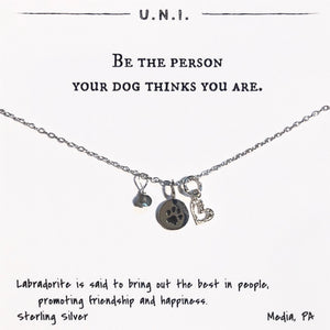 Necklace - Be the person...