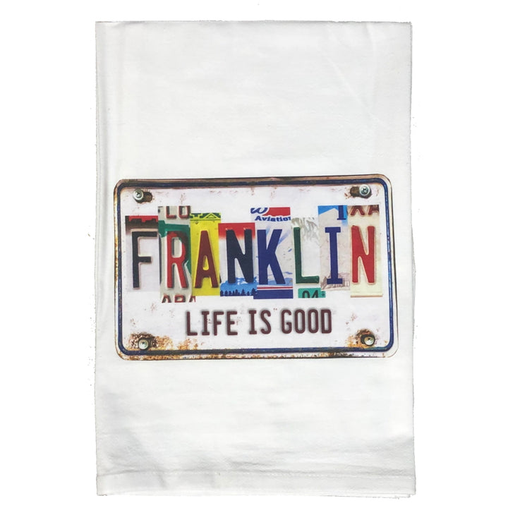 Hand Towel - Life is Good - Franklin