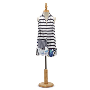 Mommy & Me Activity Scarf - Blue