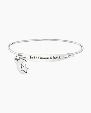 Chamilia-To the Moon and Back Spoken ID Bangle in Silver