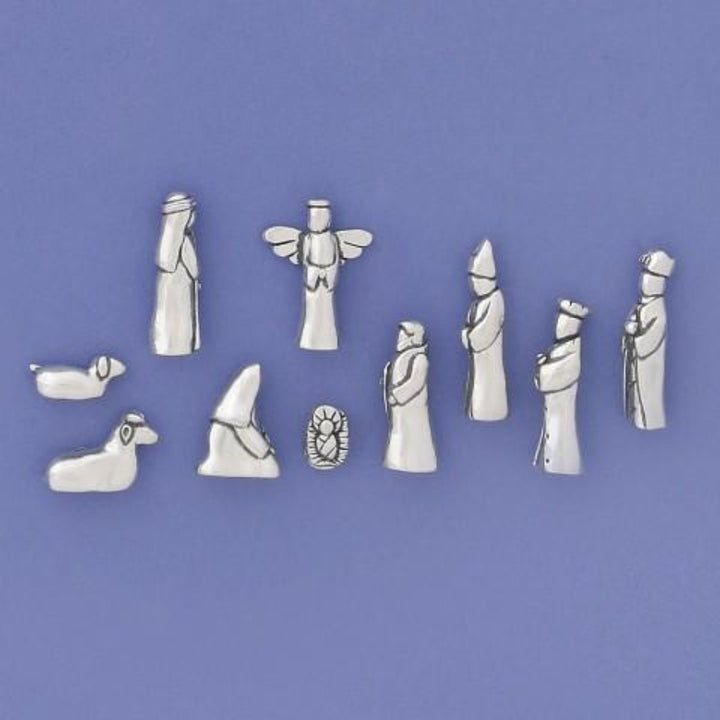 Small Nativity 10 pc. Set