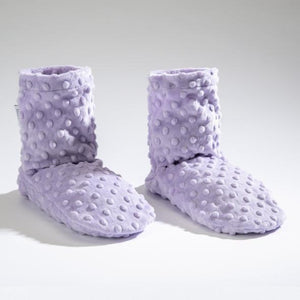 Sonoma Lavender - Lilac Dot - Spa Booties