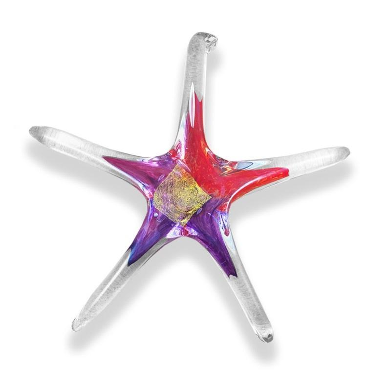 Handcrafted Glass Star - Small