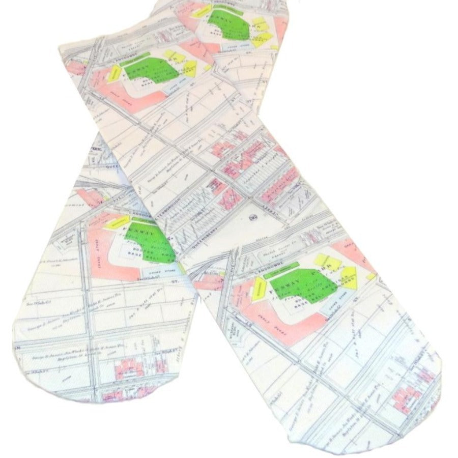 Socks - Fenway Vintage map
