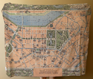 Throw - Boston Vintage Map