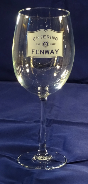 Entering Fenway Stemmed Wine Glass Set/4