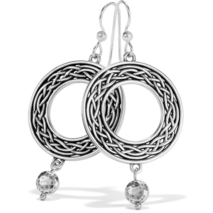 Interlok Weave French Wire Earrings