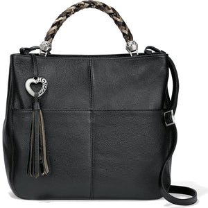 Black Bahamas Handle Tote