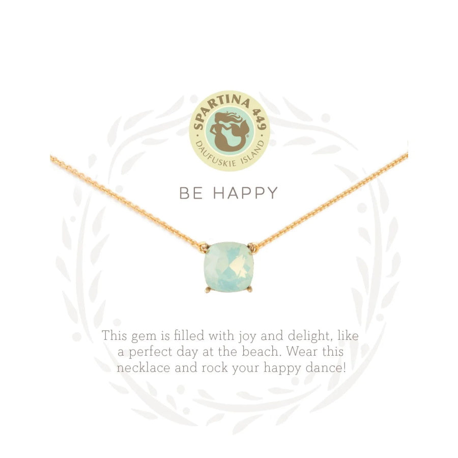 "Sea La Vie ""Be Happy"" Necklace"
