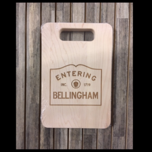 Cutting Board - Entering Bellingham