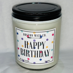 Soy Candle - Happy Birthday
