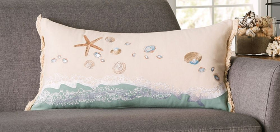 Pillow - Sand and Shells