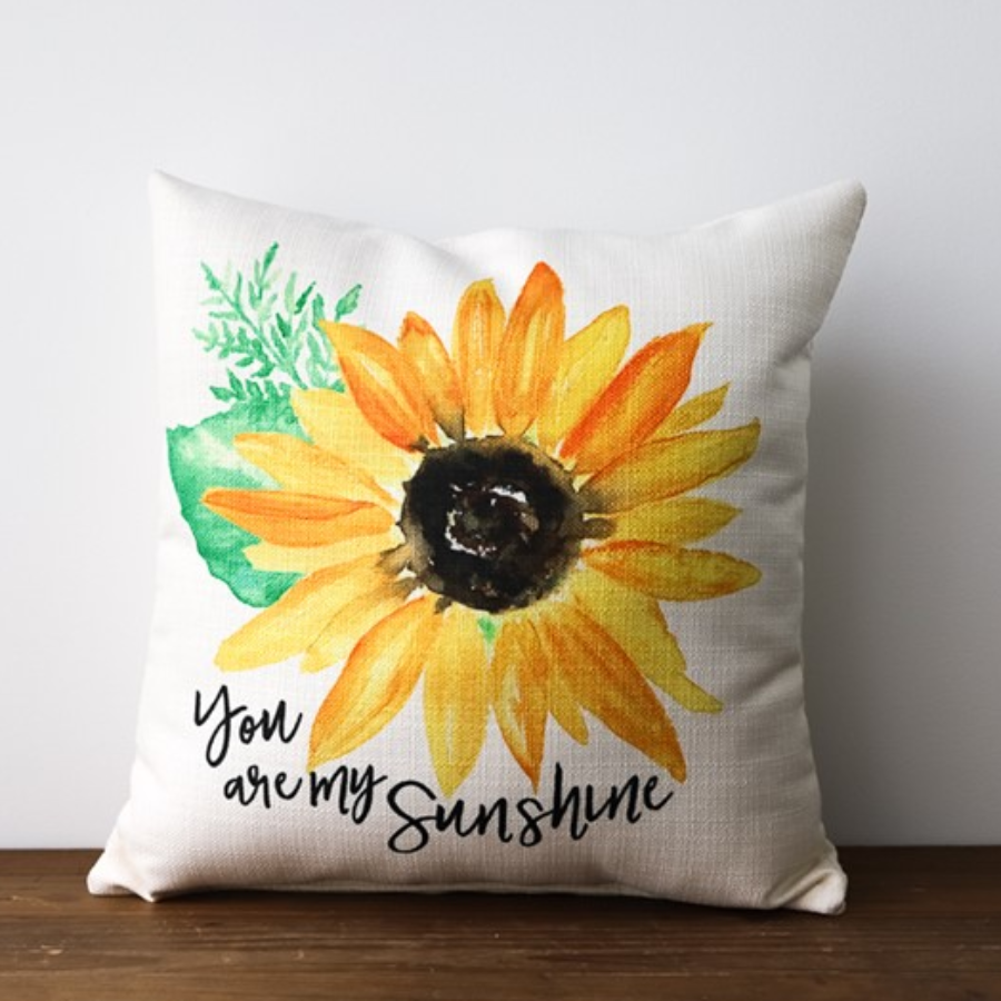 Pillow - Sunflower