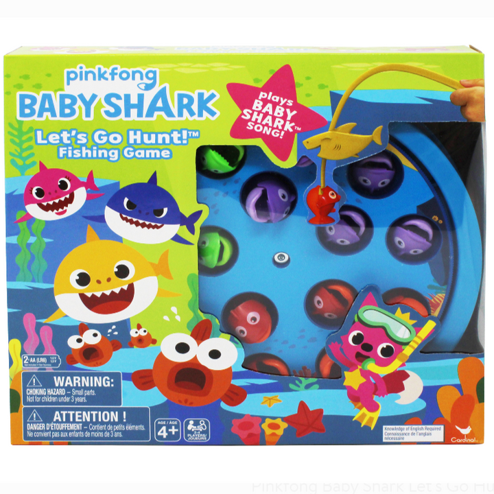 Toy- Lets Go Hunt - Baby Shark