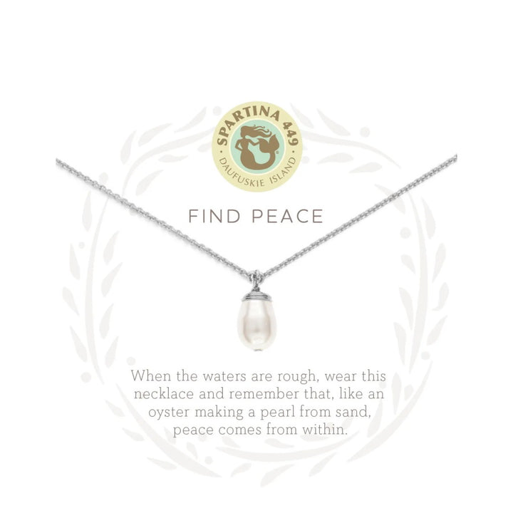 "Sea La Vie ""Find Peace"" Necklace"