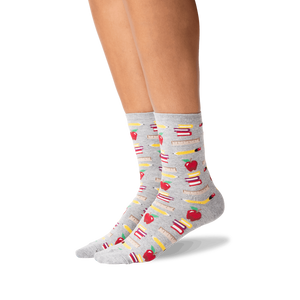 Sock - Women's - Teacher's School Supplies