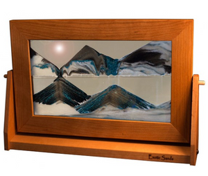Moving Sand Art - Arctic Glacier (Large)