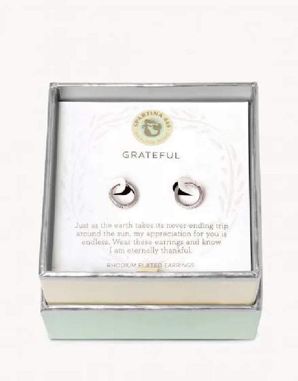 "Sea La Vie ""Grateful"" Earrings"