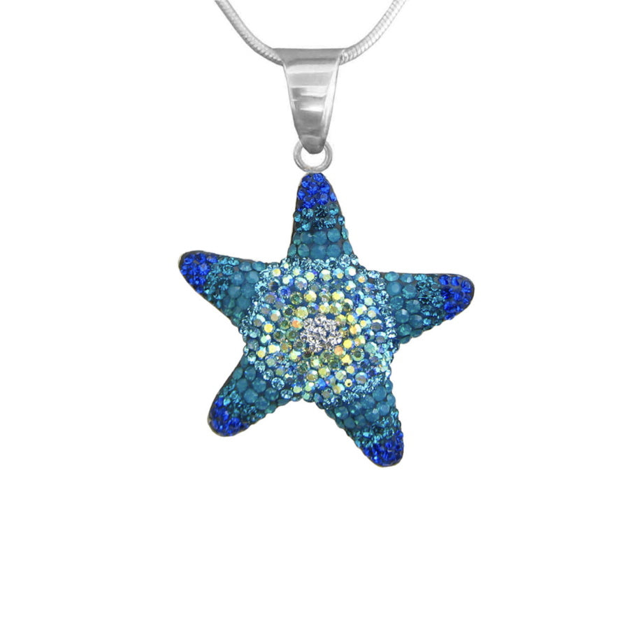 Mosaico Large Starfish Necklace