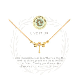"Sea La Vie ""Live It Up"" Necklace"