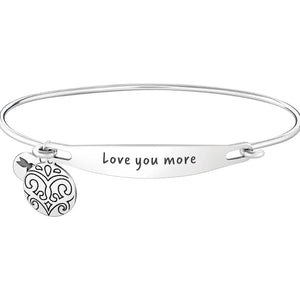 Chamilia-Love You More Spoken ID Bangle in Silver