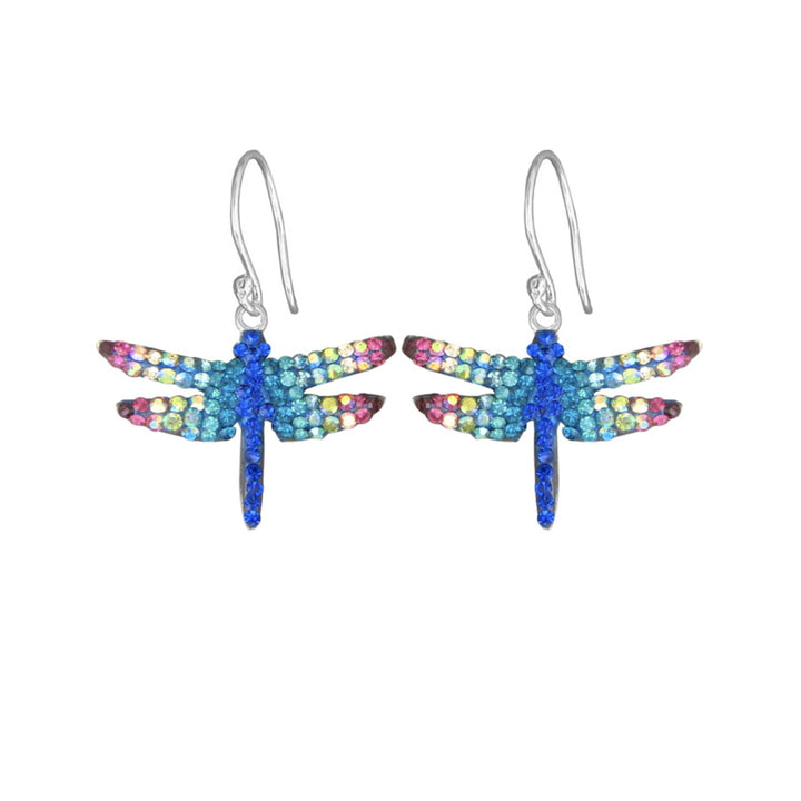Mosaico Dragonfly Earrings-Multi Color