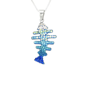 Mosaico Small Fish Necklace