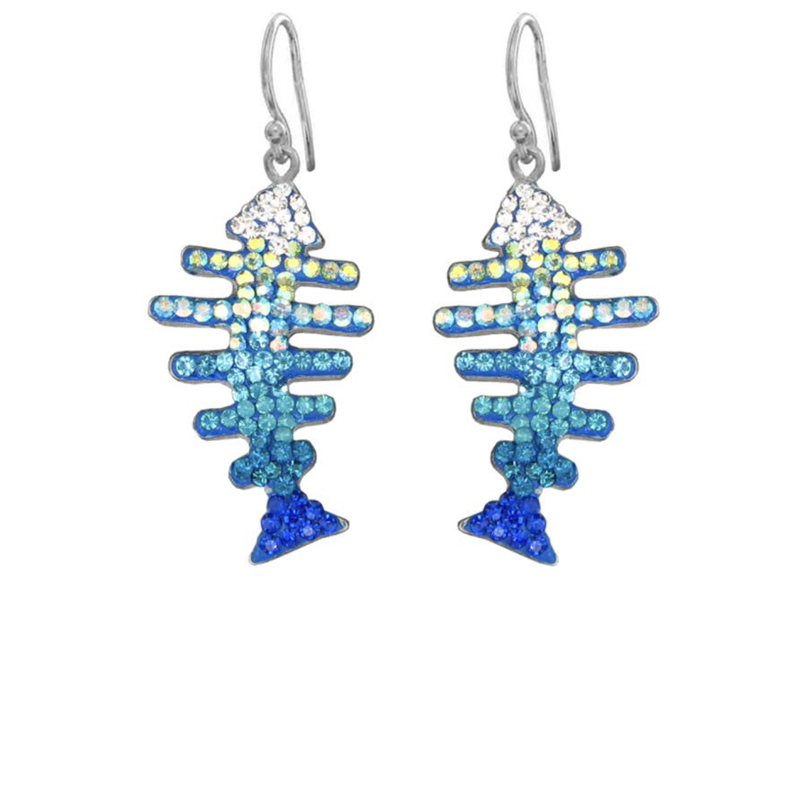 Mosaico Fish Earrings