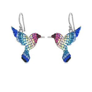 Mosaico Hummingbird Earrings-Multi Color