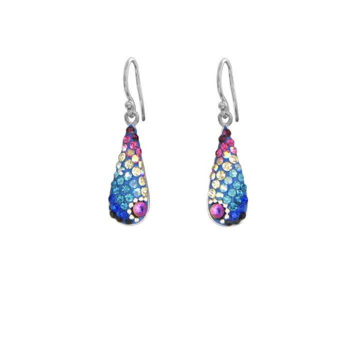 Mosaico Teardrop Earrings-Multi Color