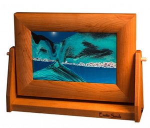 Moving Sand Art - Ocean Blue (Small)