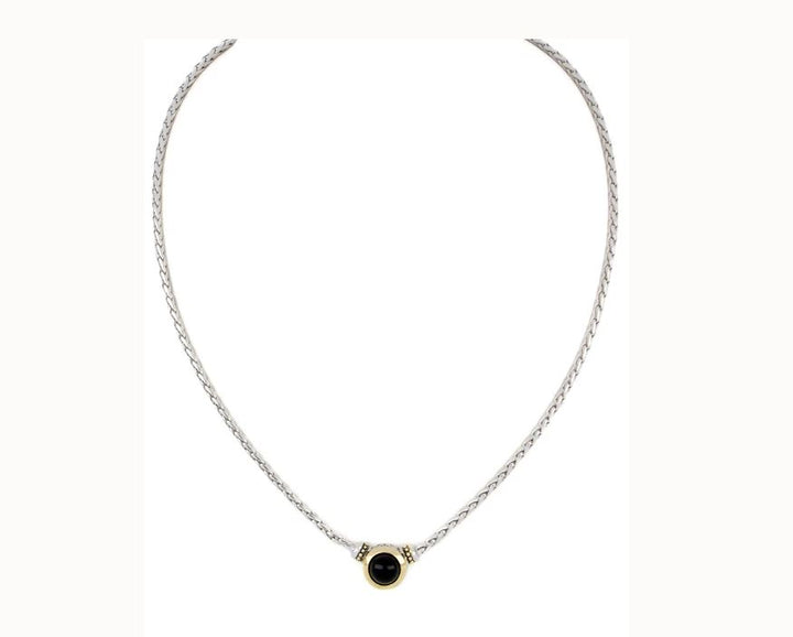 Pérola Black Onyx Necklace