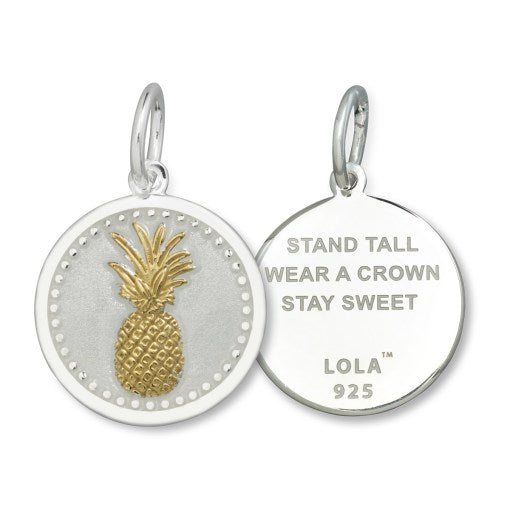 LOLA - Pineapple Gold Pendant