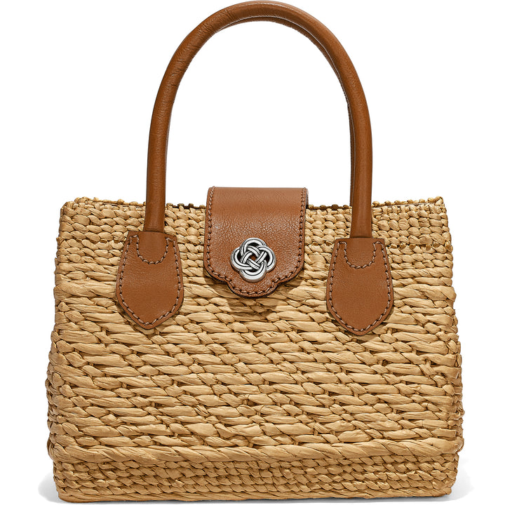 Dune Straw Satchel