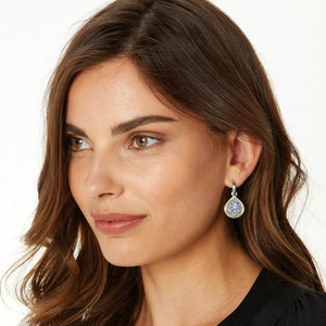 Journey To India Reversible Post Hoop Earrings