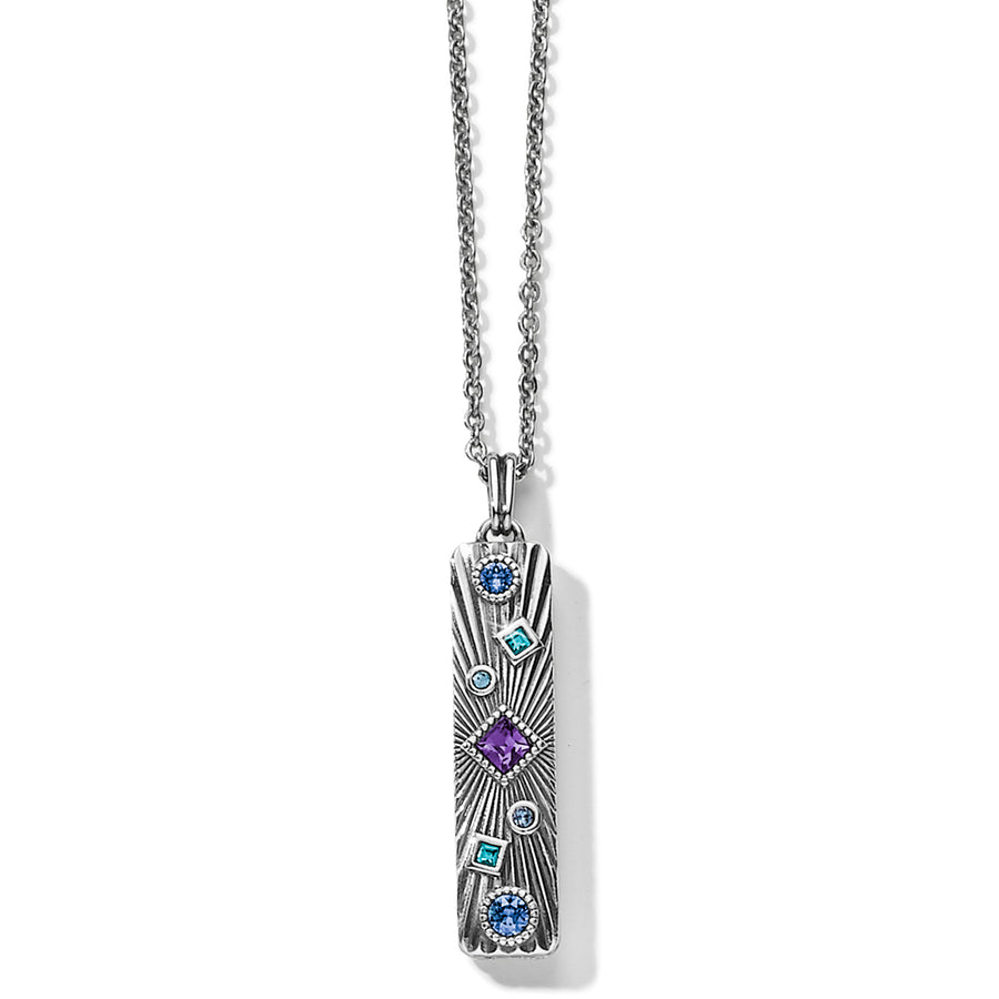 Halo Rays Bar Necklace
